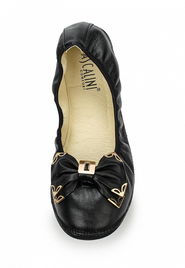 Женские балетки Ascalini T10437BK: изображение 4