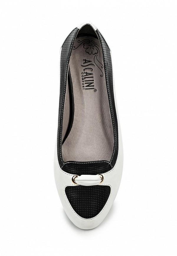 Туфли на плоской подошве Ascalini T12167: изображение 4