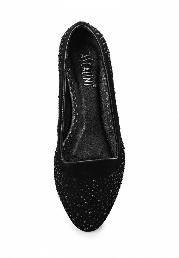 Туфли на плоской подошве Ascalini T16030: изображение 4