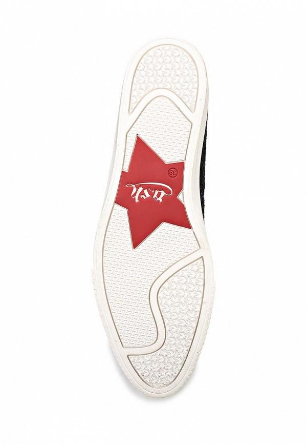 Туфли на платформе Ash (Аш) KNIT(SS15-S-107060-001): изображение 3