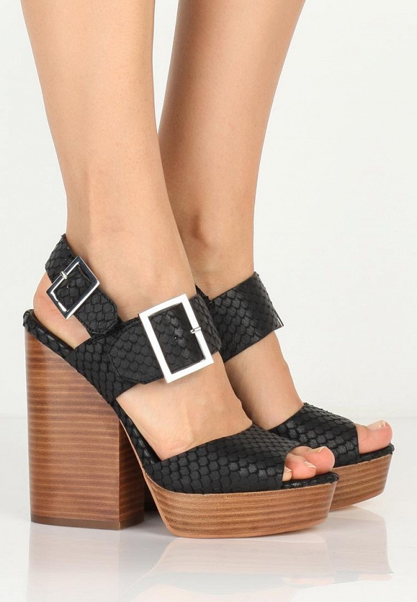 Босоножки на каблуке Ash (Аш) RACHEL(SS15-M-107020-002): изображение 5
