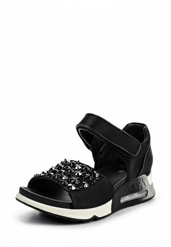 Фото - женские сандали Ash черного цвета