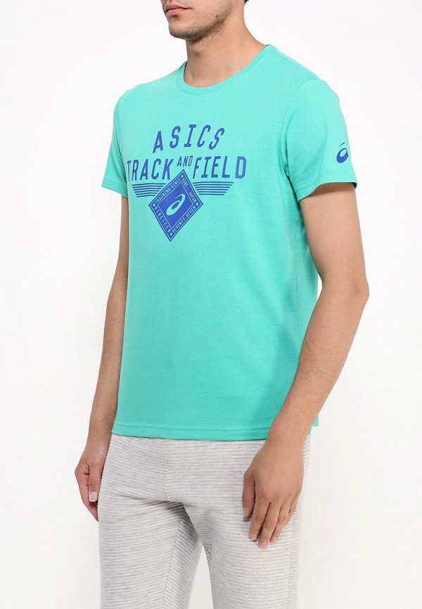 Футболка с надписями Asics (Асикс) 131841: изображение 5