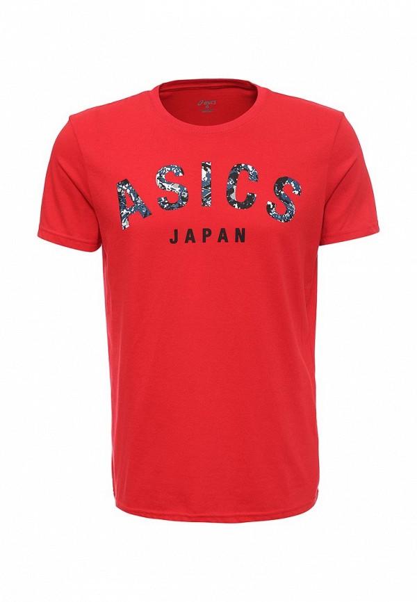Футболка с надписями Asics (Асикс) 131529: изображение 1
