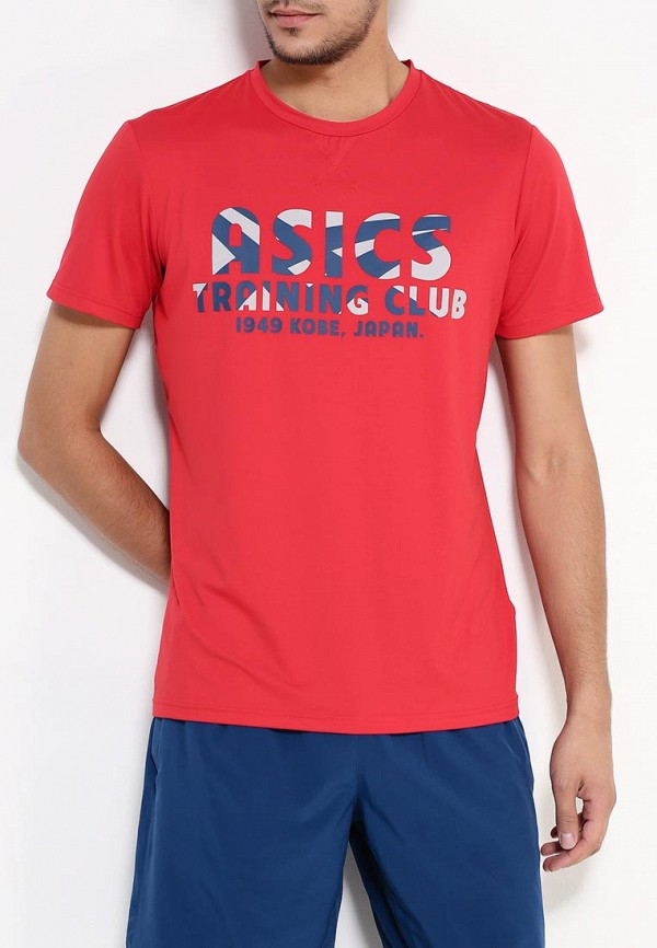 Футболка с надписями Asics (Асикс) 134784: изображение 3