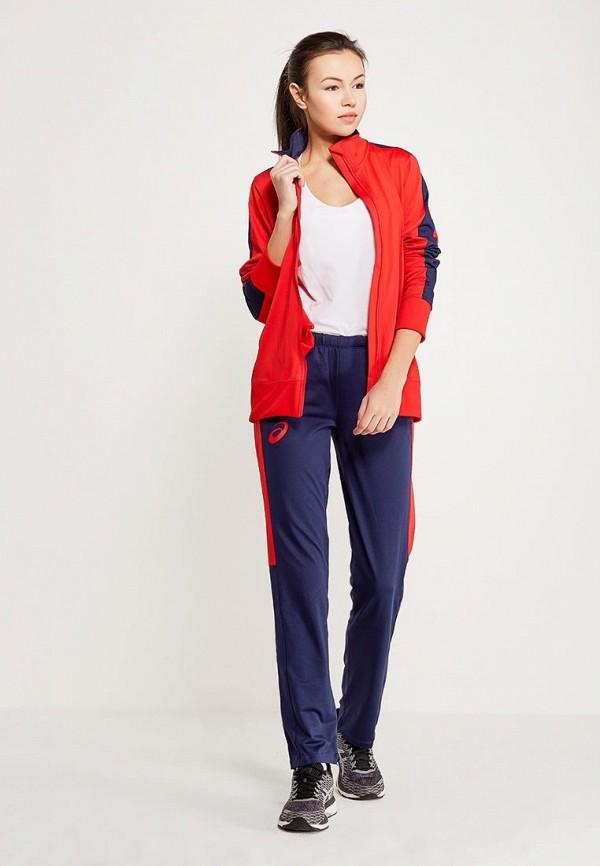 Костюм спортивный ASICS ASICS AS455EWZTJ63 костюм спортивный мужской asics man lined suit куртка брюки цвет красный синий 156853 0600 размер xxl 52