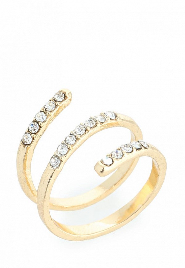 Кольцо AtStyle247 T-B-8207-RING-GD.CRYSTAL: изображение 1