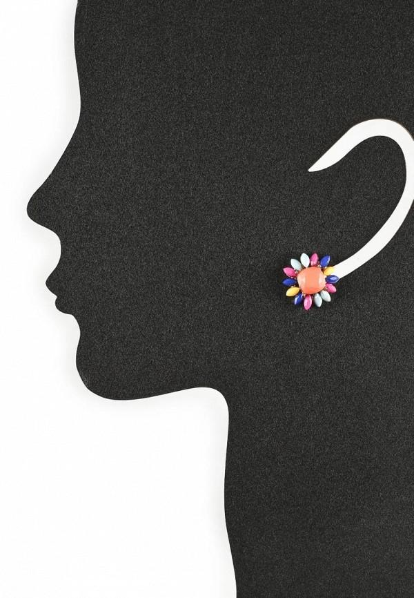 Женские серьги AtStyle247 T-B-8222-EARR-GD.MULTI: изображение 2