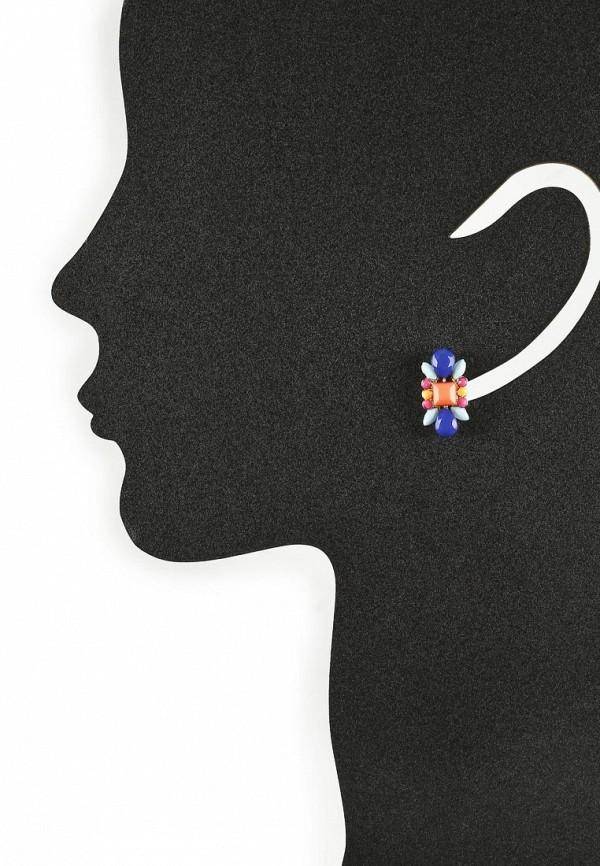 Женские серьги AtStyle247 T-B-8223-EARR-GD.MULTI: изображение 2