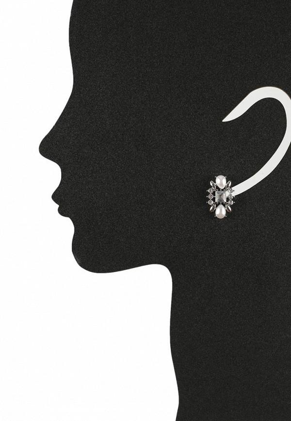 Женские серьги AtStyle247 T-B-8322-EARR-SL.WHITE: изображение 2