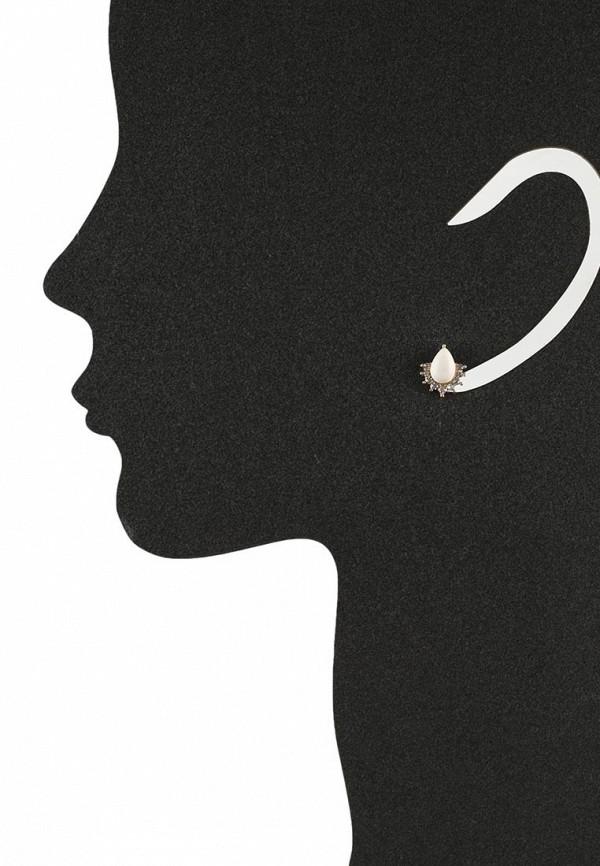Женские серьги AtStyle247 T-B-8340-EARR-GD.BEIGE: изображение 2