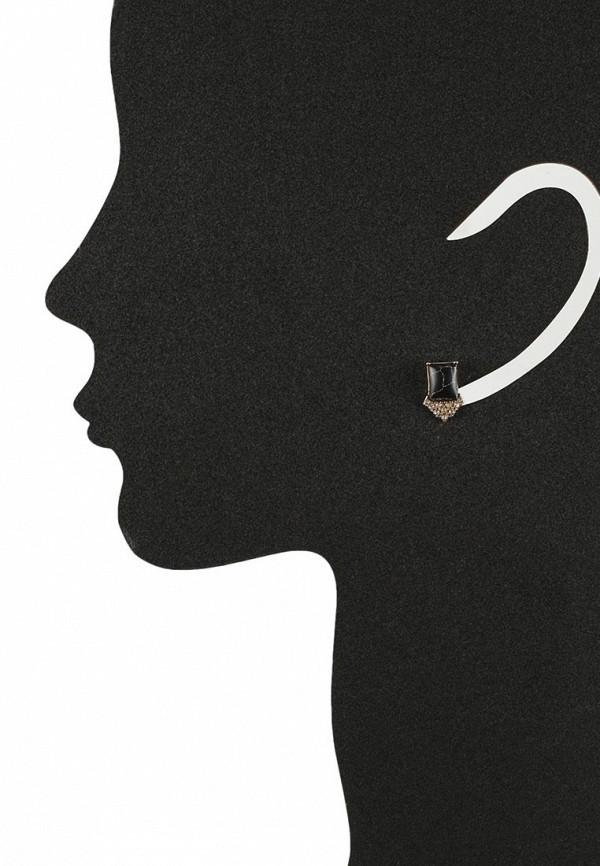 Женские серьги AtStyle247 T-B-8343-EARR-GD.BLACK: изображение 2