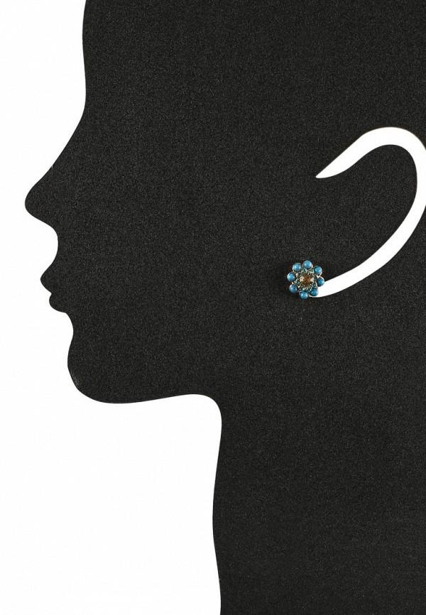 Женские серьги AtStyle247 T-B-8431-EARR-GL.TURQ: изображение 2