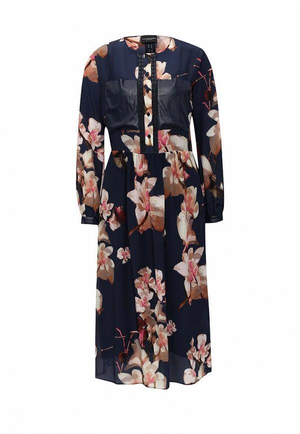 Платье-миди Atos Lombardini P03029: изображение 1