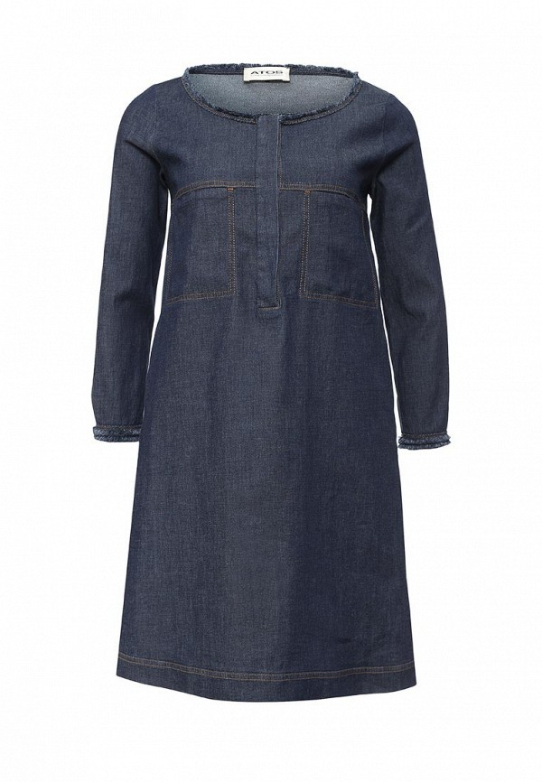 Платье-миди Atos Atos Lombardini V03000: изображение 1
