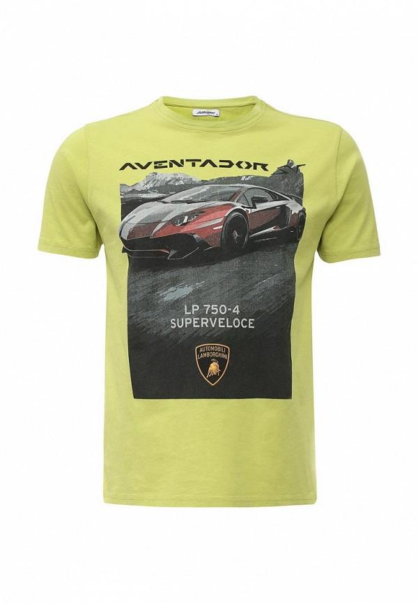 Футболка с надписями Automobili Lamborghini 9010122CCG087EM: изображение 1