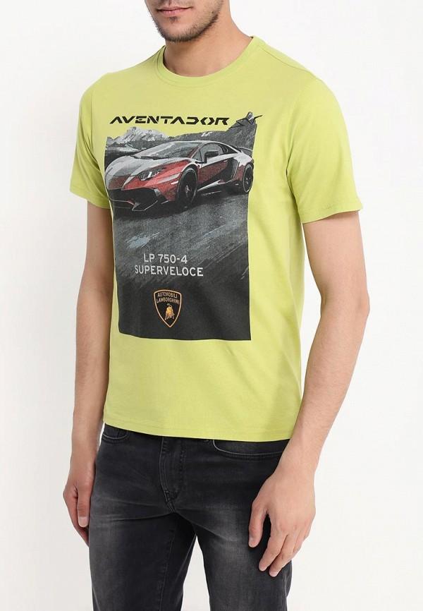 Футболка с надписями Automobili Lamborghini 9010122CCG087EM: изображение 3