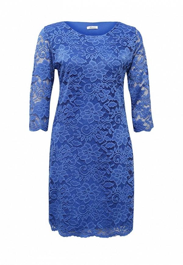 Купить женское платье Aurora Firenze синего цвета