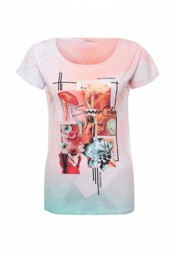 Купить женскую футболку Aurora Firenze розового цвета