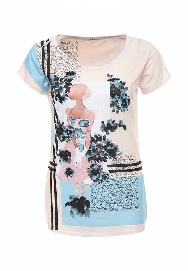 Купить женскую футболку Aurora Firenze разноцветного цвета