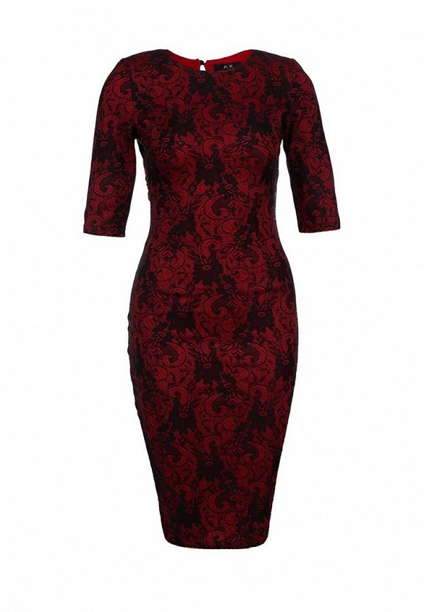 Платье-миди AX Paris DW1163NBL: изображение 1
