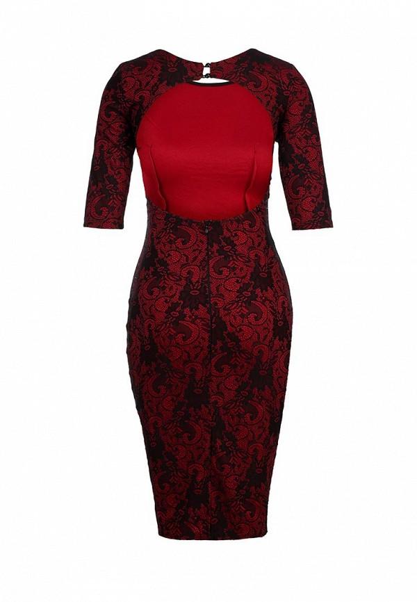 Платье-миди AX Paris DW1163NBL: изображение 3