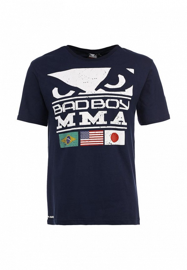 Футболка с надписями Bad Boy BAW13M001-01: изображение 1