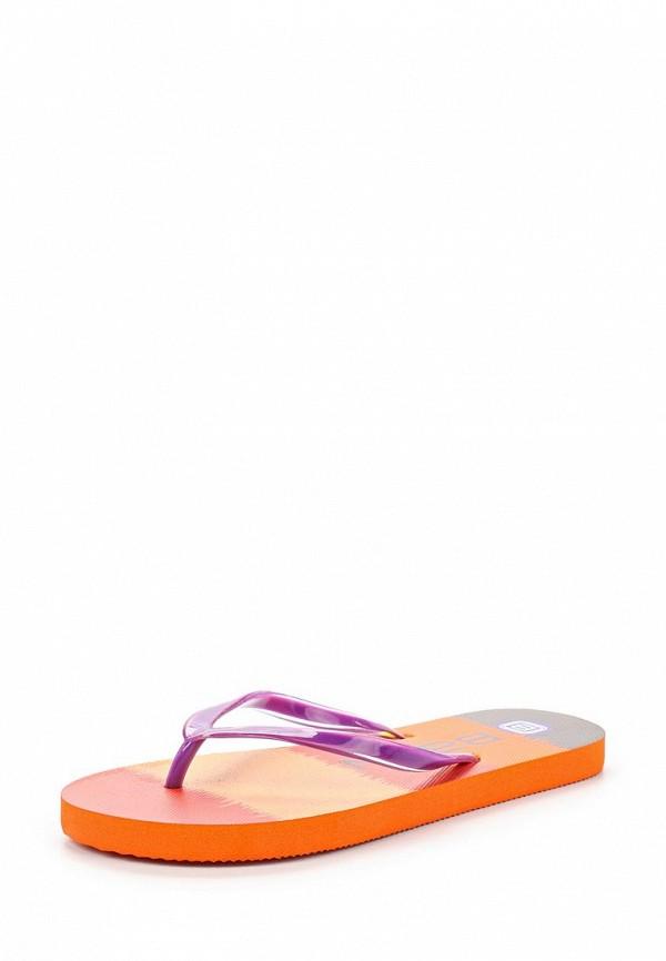 Женские фиолетовые летние шлепанцы