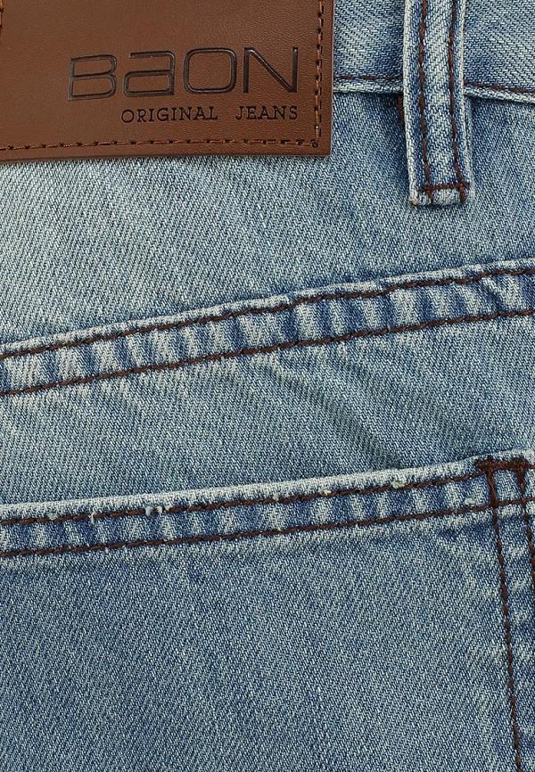 Мужские прямые джинсы Baon (Баон) B804013: изображение 3