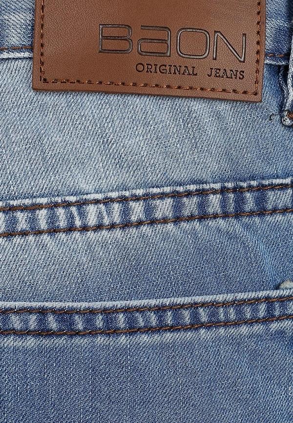 Мужские прямые джинсы Baon (Баон) B804006: изображение 4