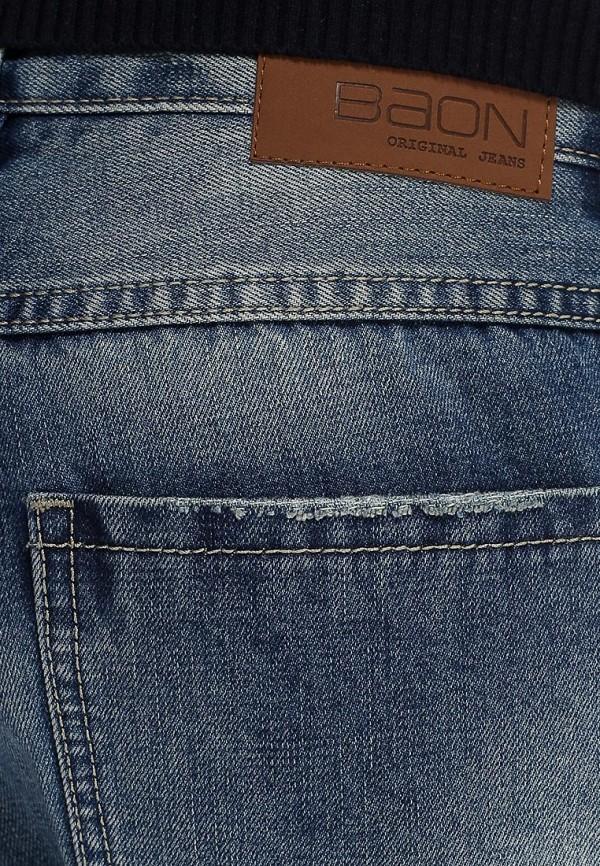 Мужские прямые джинсы Baon (Баон) B805004: изображение 3