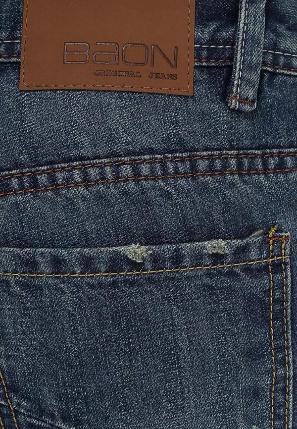 Мужские прямые джинсы Baon (Баон) B805005: изображение 3