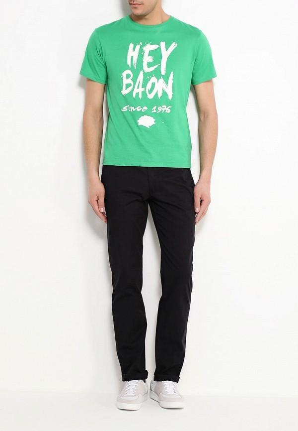 Футболка с надписями Baon (Баон) B736045: изображение 2