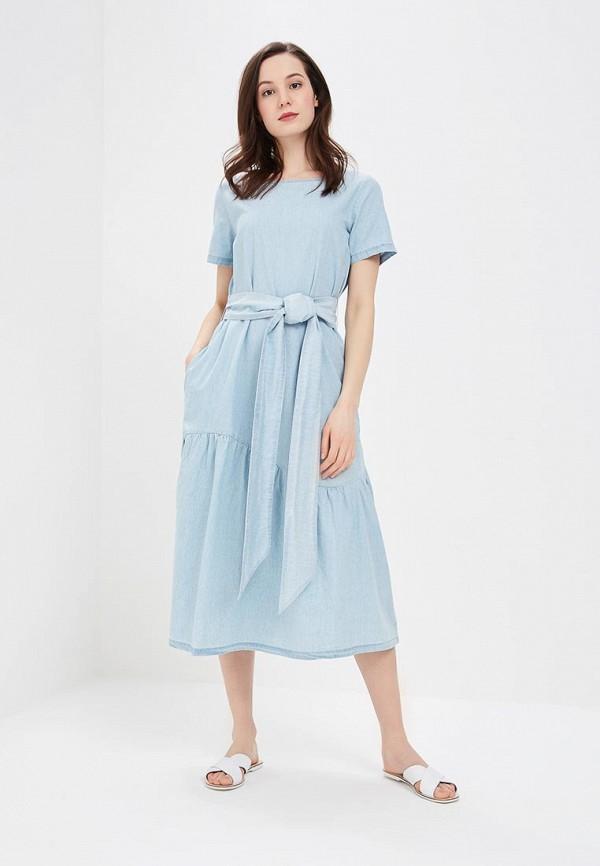 Платье джинсовое Baon Baon BA007EWAYMB2 платье baon baon ba007ewwap58