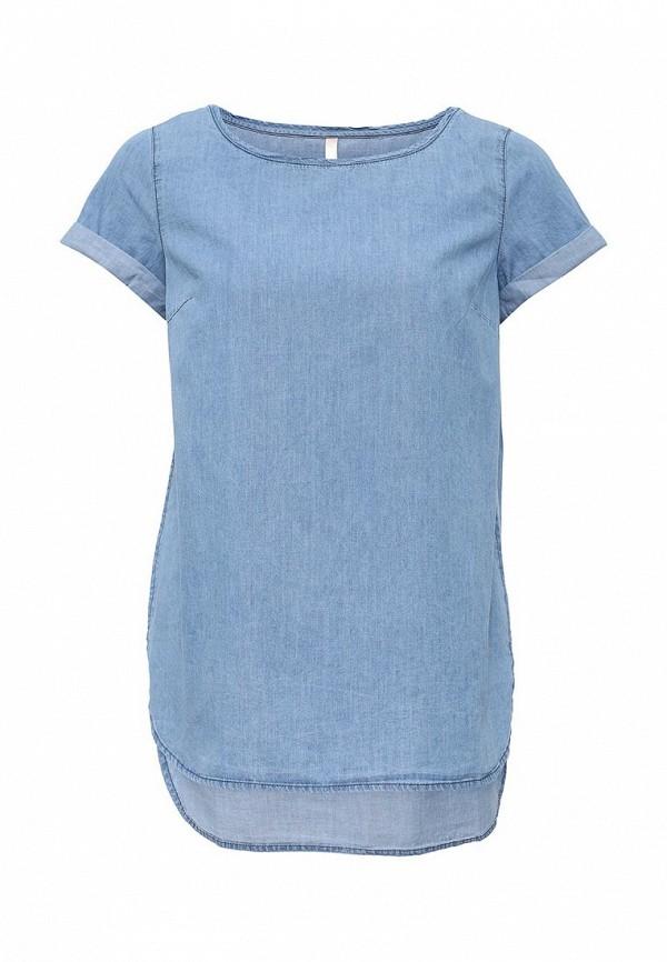 Голубая блузка Baon