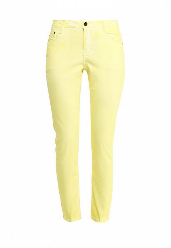 Купить женские брюки Baon желтого цвета