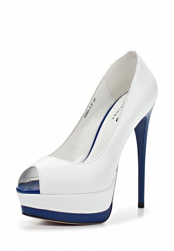 Туфли на шпильке Basic 67435: изображение 1