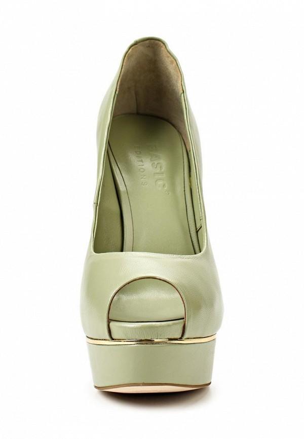 Туфли на каблуке Basic 69184: изображение 6