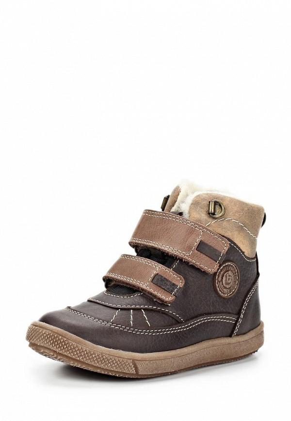 Ботинки Bambi. Цвет: коричневый