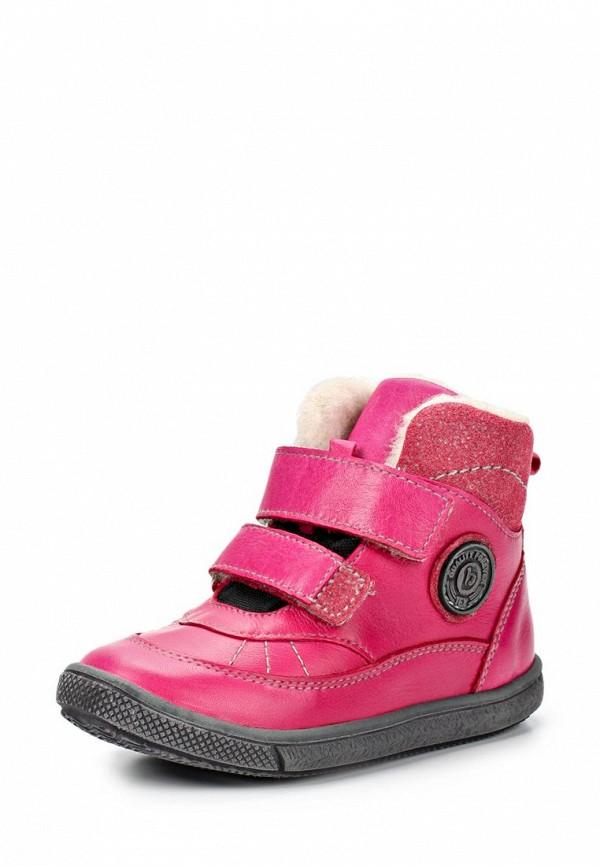 Ботинки Bambi. Цвет: розовый
