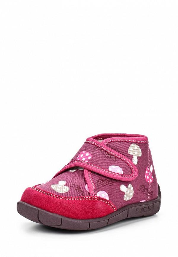 Ботинки Bambi. Цвет: фиолетовый