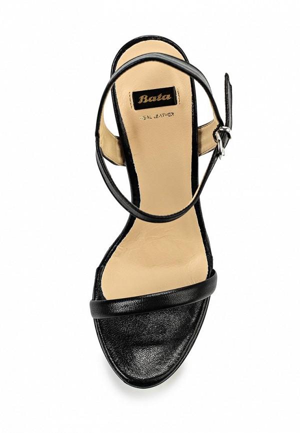 Босоножки на каблуке Bata 7646483: изображение 4