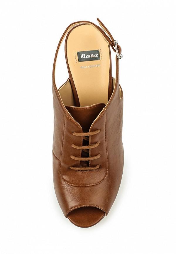 Босоножки на каблуке Bata 7213942: изображение 4