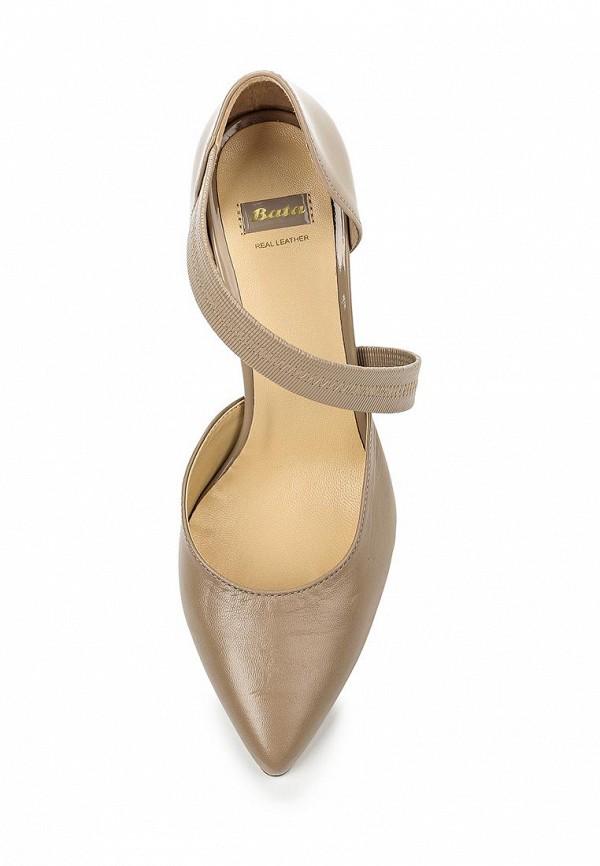 Туфли на каблуке Bata 7242904: изображение 4
