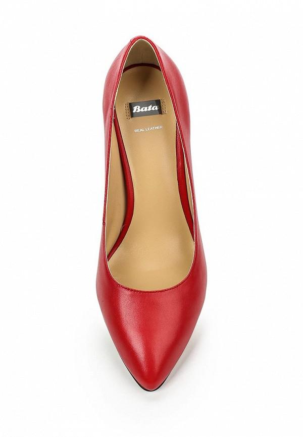 Туфли на каблуке Bata 7245482: изображение 4