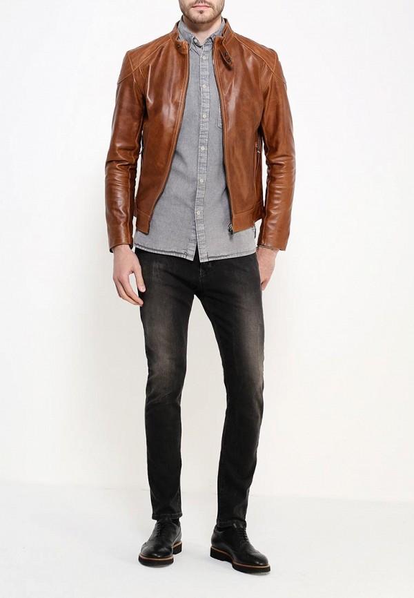 Кожаная куртка Bata 9743164: изображение 2