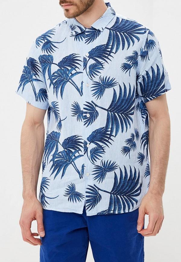 Купить Рубашка Banana Republic, BA067EMBPZZ0, голубой, Весна-лето 2018