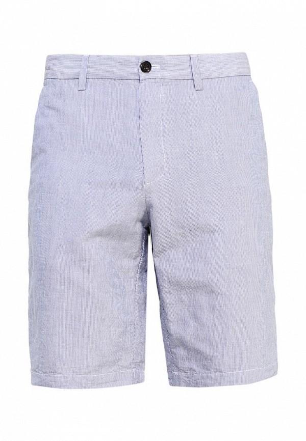 Купить мужские шорты Banana Republic голубого цвета