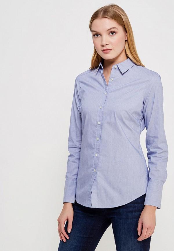 Рубашка Banana Republic, BA067EWVCL74, голубой, Весна-лето 2018  - купить со скидкой
