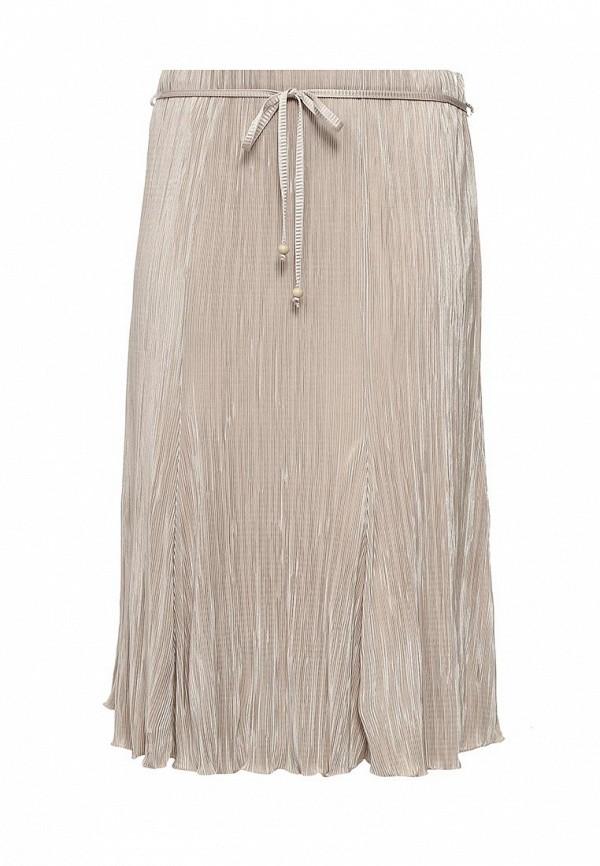 Купить женскую юбку Bassini бежевого цвета